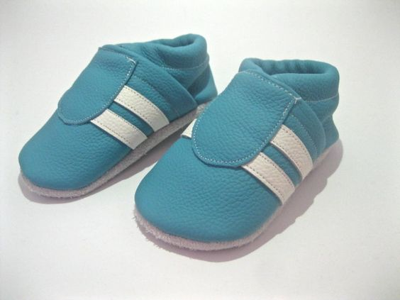 chaussons cuirs bébé