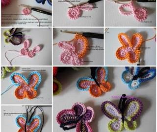Apprenez comment crocheter un papillon