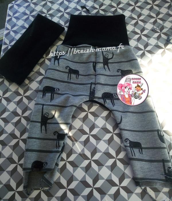 Couture sarouel pour bébé