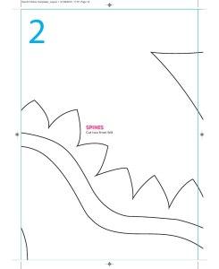 Patron peluche dragon  - Partie 2