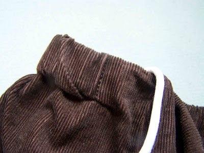 Couture jupe kangourou