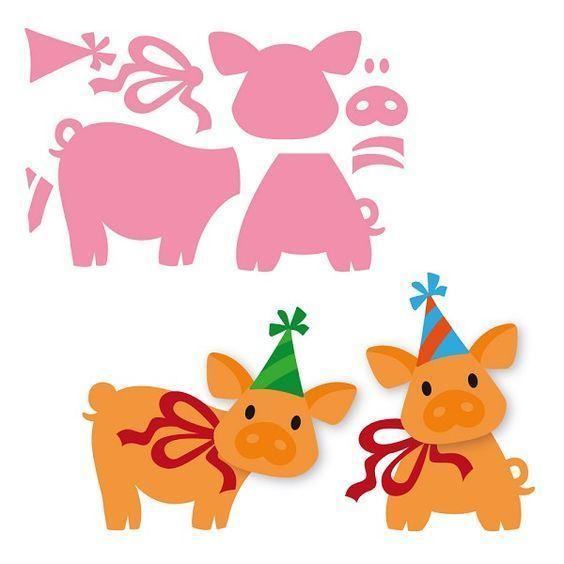 Patrons figurines cochons