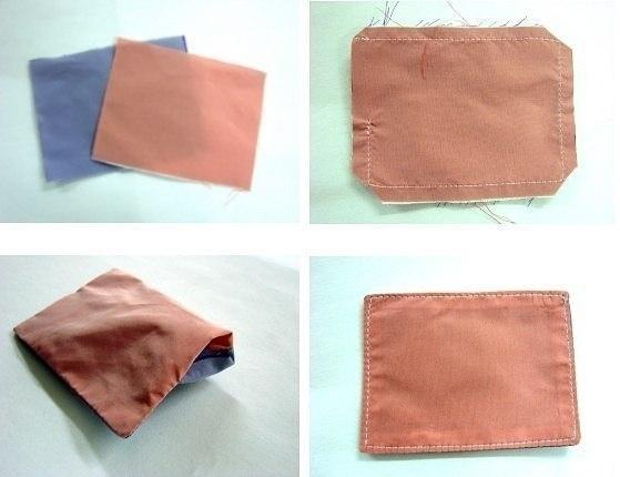 Tuto papillon origami - Étape 1
