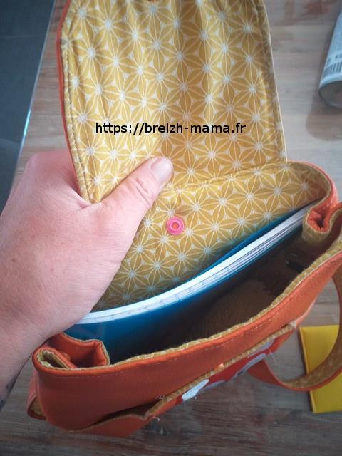 Poser une pression compatible sur le sac