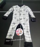 couture pyjama paresseux