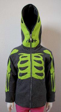 Appliqué Squelette Halloween