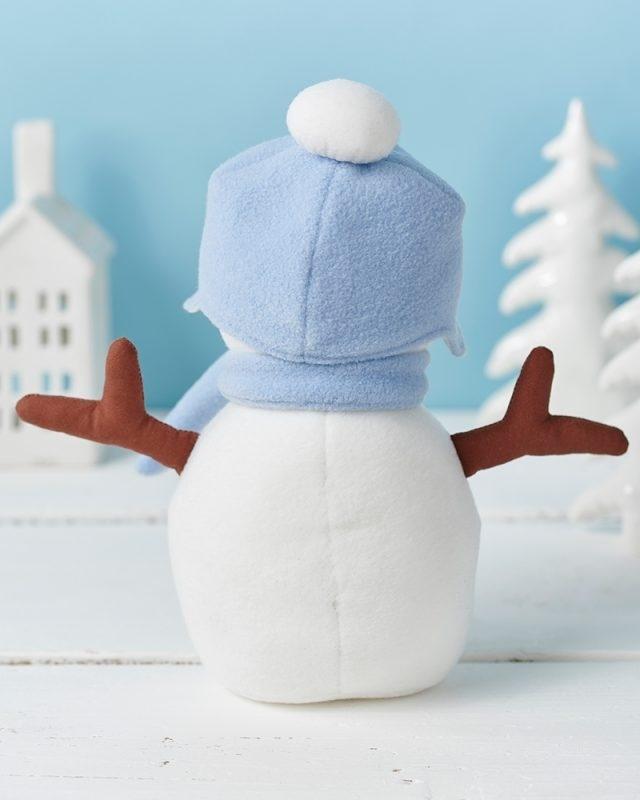 coudre un doudou bonhomme de neige