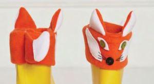 Sur bottes enfant renard