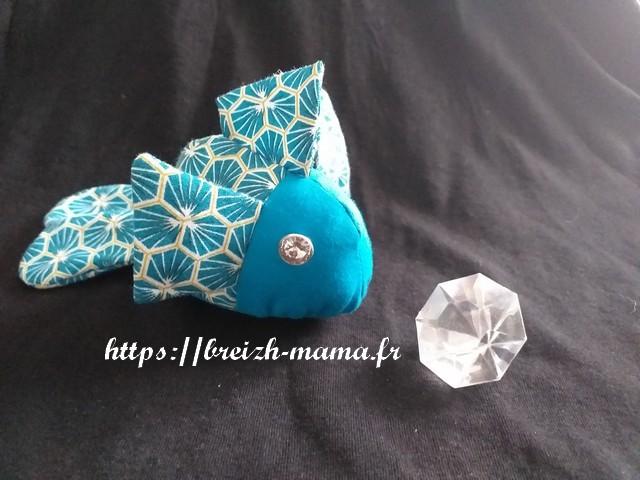 40 - Mon petit poisson cousu main -t couture tuto