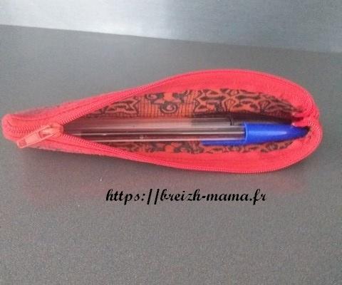 Mini trousse 2 crayons