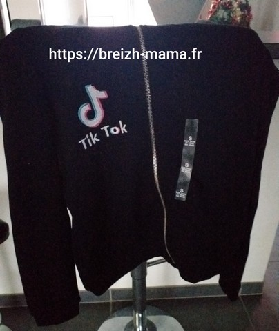 Broderie Recto Sweat TikTok