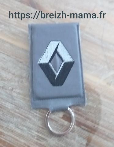 Porte clé porte carte de voiture