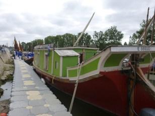 La barque de poste du Canal du Midi