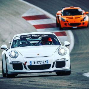 Porsche gt3 Club sport circuit Albi