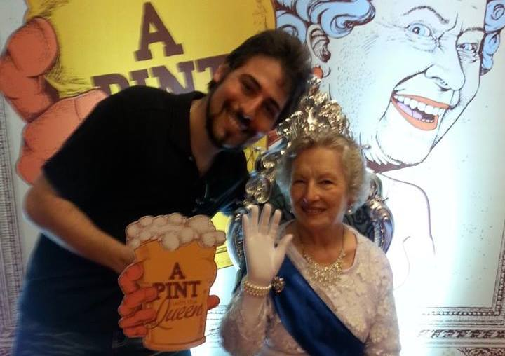 Cobertura – A Pint with the Queen