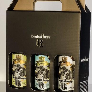 Kit Brotas Beer 3 gfas
