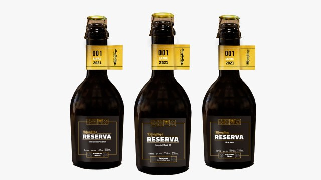 Blondine - Cervejas maturadas em madeira brasileira