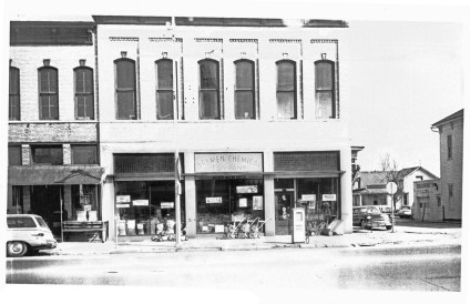 Wright bldg in the 1960s
