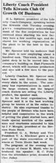 Liberty Coach head Spencer gives talk - Enquirer_Thu__Oct_2__1941_