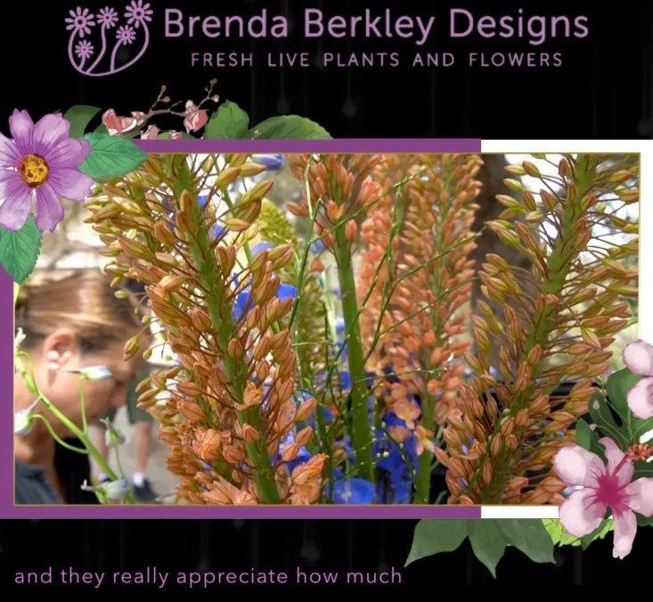 Brenda berkley designs fresh flowers