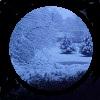 Full Moon on Georgia Snow