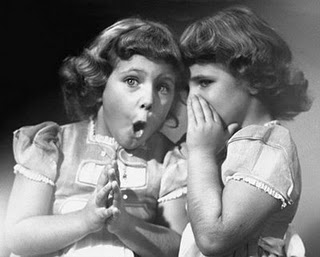 Telling a secret girls