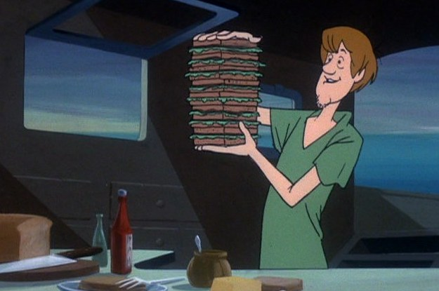 Shaggy is an extreme version of a Type B but the image made me smile so I used it.