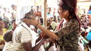 Alicia Fox in Rwanda