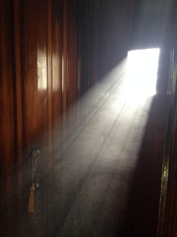 letting light in window