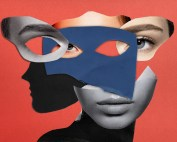woman imposter masks
