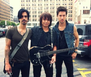 Japanese rock legend Daita and his band Breaking Arrows