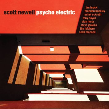 Psycho Electric album cover by Scott Newell