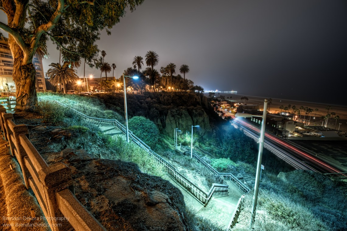Palisades Park Night View