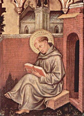 Detail, Gentile da Fabriano's 'Valle Romita Polyptych.' (ca. 1411)
