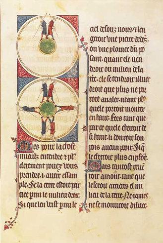'L'image du monde,' Gossuin de Metz. (14th century copy of a 13th century original)