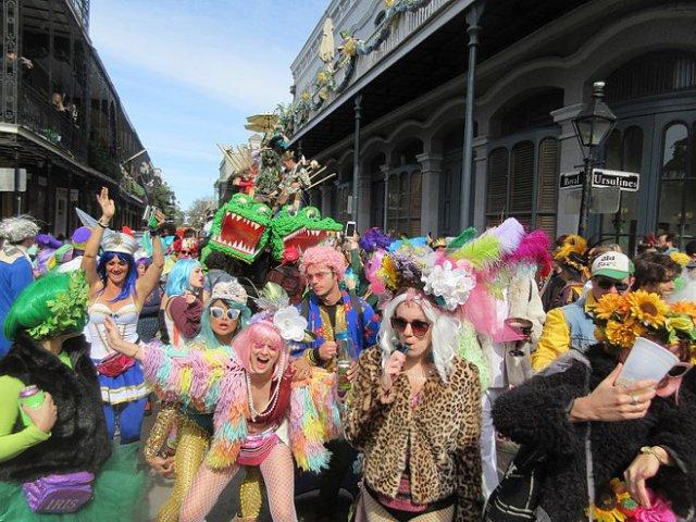 Mardi Gras, New Orleans, 2019.