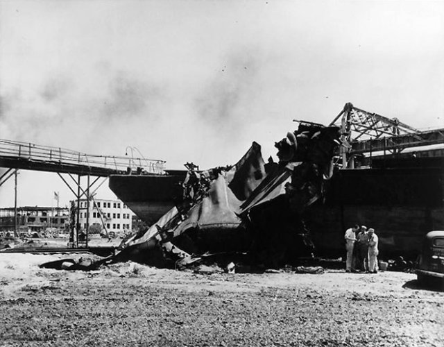 Longhorn II cargo ship, after the Texas City Disaster.