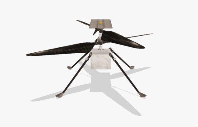 NASA's Mars helicopter Ingenuity.