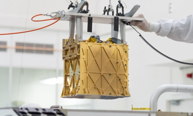 Mars Oxygen In-Situ Resource Utilization Experiment (MOXIE).