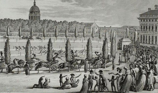 Olympiad of the Republic, Paris: Olympics of the French Revolution. (1796))