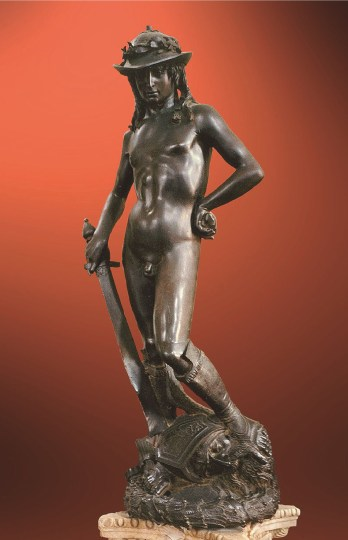 David Donatello Museo de Bargello, Florencia 1440