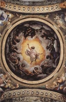 Frescos de San Giovanni Evangelista Correggio Parma