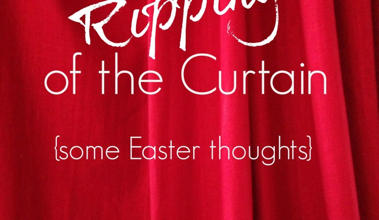 Listening for the Ripping of the Curtain