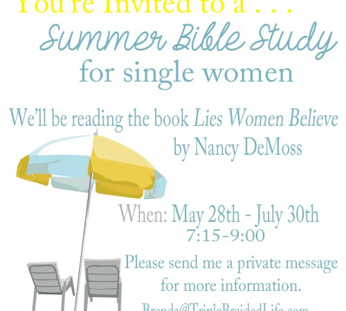 You're Invited to a Summer Online Bible Study!