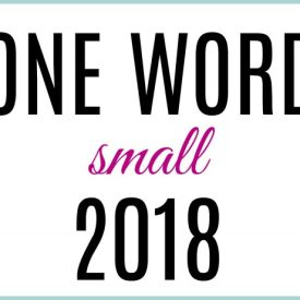 What I Learned about Love in 2017 and My One Word for 2018