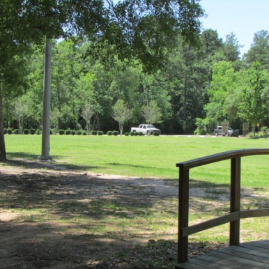 Park has an athletic Field
