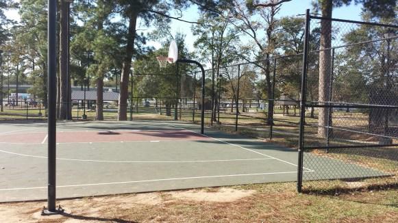 Light Basketball Court