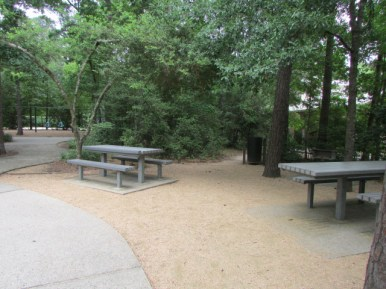 Picnic area and Barbeque pits