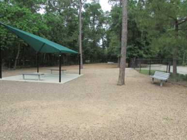 Spacious dog park for the small dogs