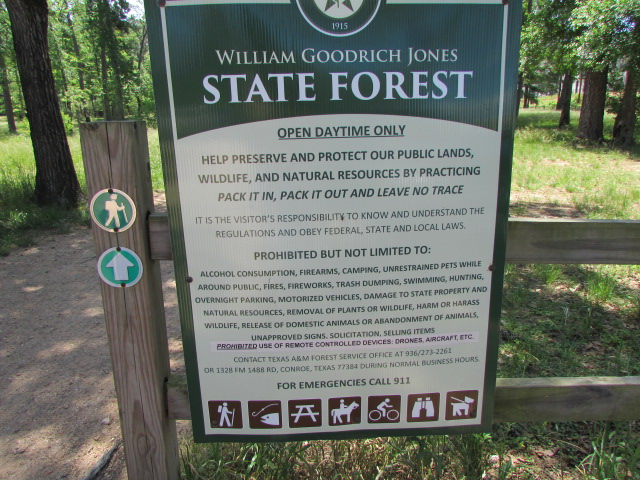 State Forest Rules